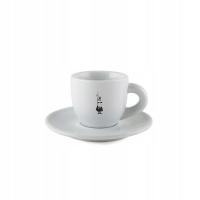 Кофейная пара Bialetti мока белая