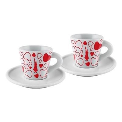 Набор для эспрессо из 2-х чашек Bialetti Сердце