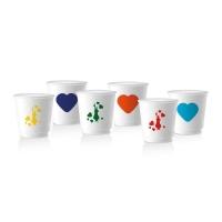 Набор из 6 чашек Bialetti Сердце
