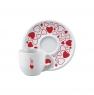 Чашки для капучино Bialetti Сердечки