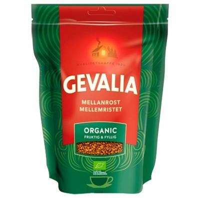 Кофе Gevalia Organik растворимый в упаковке с зиплоком 150 г