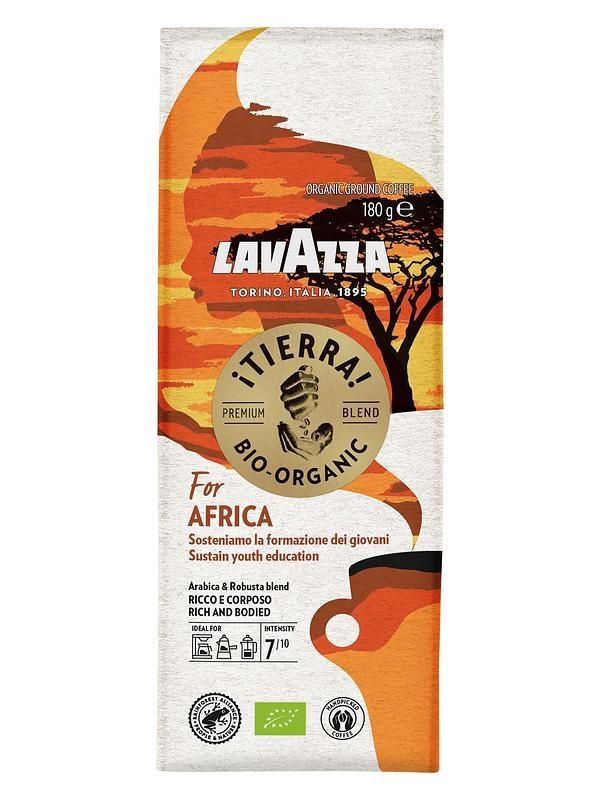 Кофе молотый Lavazza Tierra BIO Africa 180 г