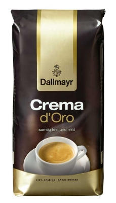 Кофе в зернах Даллмайер Крема Д'Оро (Dallmayr Crema d'Oro) 1 кг