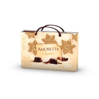 Конфеты MIESZKO AMORETTA CLASSIC из темного и молочного шоколада (6 вкусов) + сумка НГ 280 г