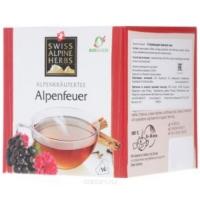 Согревающий травяной чай в пакетиках Swiss Alpine Herbs 14шт х по 1 г