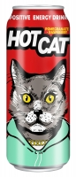 Напиток энергетический газированный HotCat Pomegranate-Raspberry 0,45 л