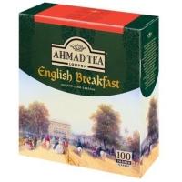 Чай Ахмад Английский завтрак черный в пакетиках 100 шт
