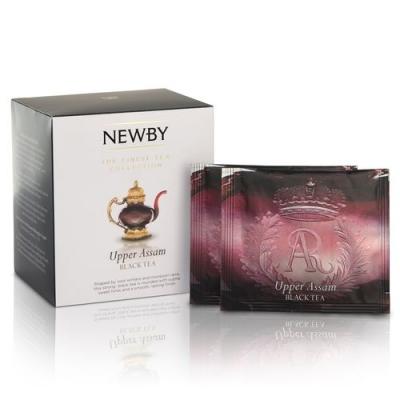 Чай Newby Верхний Ассам 15 Шелковых Пирамидок черный 38 гр