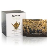 Чай Newby Английский Завтрак 15 Шелковых Пирамидок черный 38гр