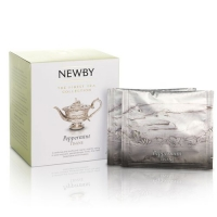 Чай Newby Мята перечная 15 Шелковых Пирамидок травяной 38гр