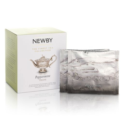 Чай Newby Мята перечная 15 Шелковых Пирамидок травяной 38 гр