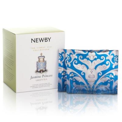 Чай Newby Жасминовая принцесса 15 Шелковых Пирамидок зеленый 38 гр