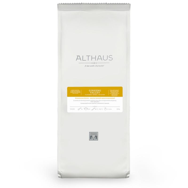 Чай Althaus Ginseng Valley травяной листовой 200 гр