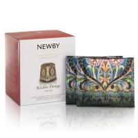 Чай Newby Ройбос Апельсин 15 Шелковых Пирамидок фруктовый 38 гр