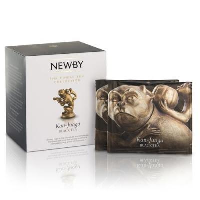Чай Newby Кан-Джанга 15 Шелковых Пирамидок черный 38 гр