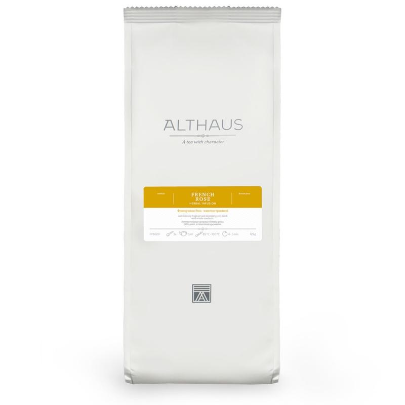 Чай Althaus French rose травяной листовой 125 гр