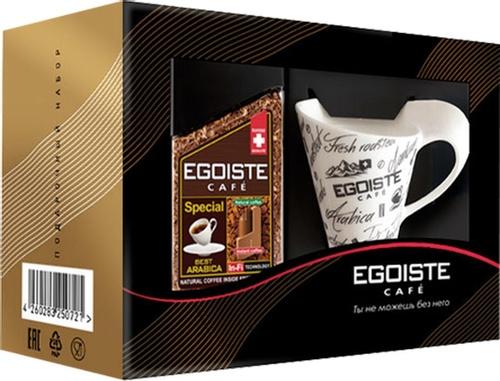 Кофе сублимированный Egoiste Special 100 подарочный набор с кофейной чашкой 100 г