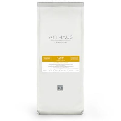 Чай Althaus Lemon Mint травяной листовой 150 гр