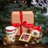 Чайный подарочный набор в гофро-упаковке «Классик»