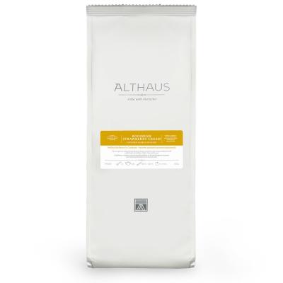 Чай Althaus Rooibush Strawberry Cream травяной листовой 250 гр