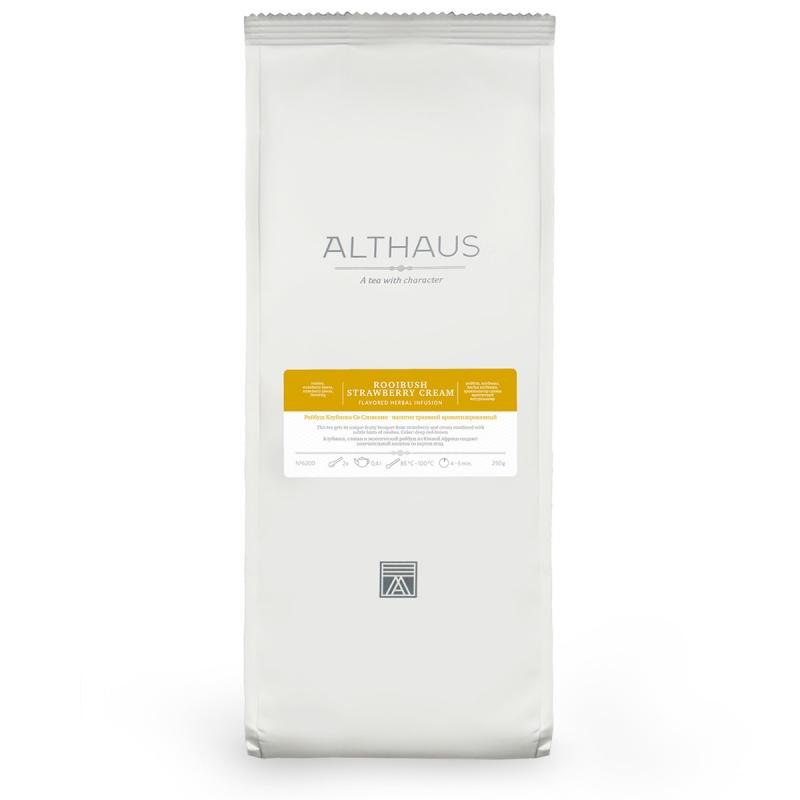 Чай Althaus Rooibush Berry Basket травяной листовой 250 гр