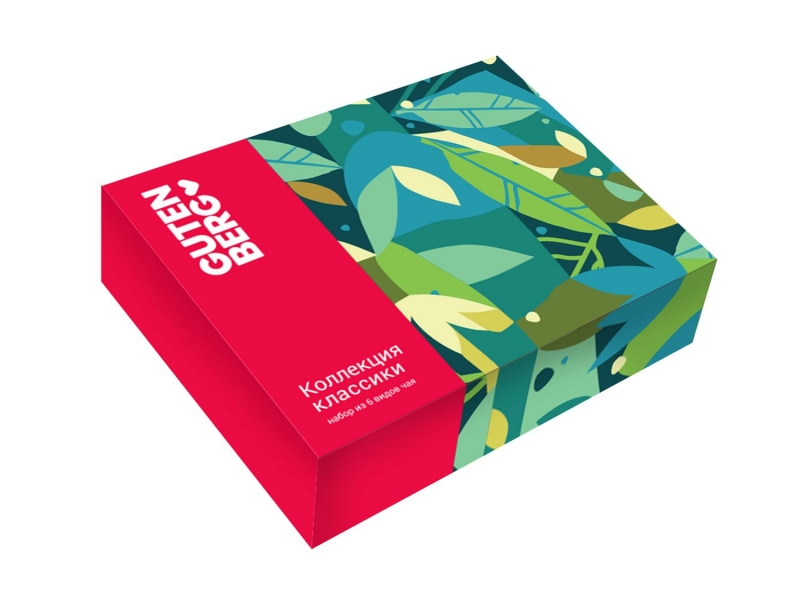 Коллекция Чайной Классики Gutenberg Red 280 г