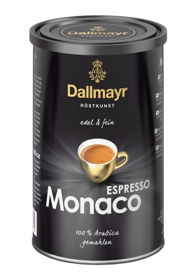 Молотый кофе Даллмайер Эспрессо Монако (Dallmayr Espresso Monaco) 200 гр