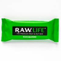 RAW LIFE Орехово-Фруктовый батончик Макадамия 47 гр