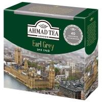 Чай Ахмад Эрл Грей черный в пакетиках 40штук