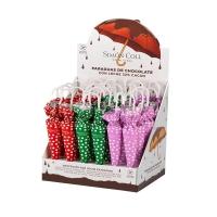Шоколадные зонтики Горошек 35 грамм