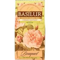 Чай Basilur Букет Кремовая фантазия Cream Fantasy листовой зеленый 100гр в картонной упаковке