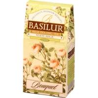 Чай Basilur Букет Белое волшебство White Magic листовой улун 100гр в картонной упаковке