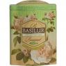 Чай Basilur Букет Кремовая фантазия Cream Fantasy листовой зеленый 100 гр в жестяной банке