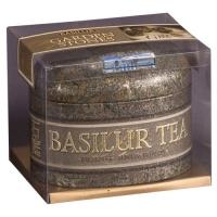 Чай Basilur Сад Камней большой Цейлон Ceylon FBOP листовой черный 100 гр в жестяной банке