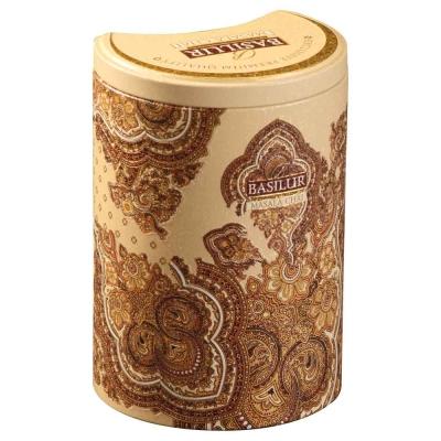 Чай черный Basilur Masala Tea в жестяной банке 100 гр