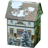 Чай Basilur Чайный домик Tea House листовой черный 100 гр в жестяной банке