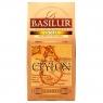 Чай Basilur Остров Золотой Gold OP1 листовой черный 200 гр в картонной упаковке