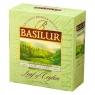 Чай Basilur Лист Цейлона Раделла Radella 100 пакетиков зеленый в картонной упаковке