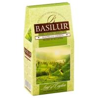 Чай Basilur Лист Цейлона Раделла Radella Green листовой зеленый 100гр в картонной упаковке