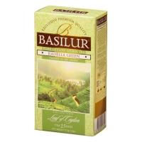 Чай Basilur Лист Цейлона Раделла Radella 25 пакетиков зеленый в картонной упаковке