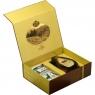 Подарочный набор Basilur Чайный подарок коричневый (Остров Спешл + Фолк Индиго)