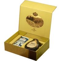 Подарочный набор Basilur Чайный подарок золотой (Остров Спешл + Фолк Индиго)