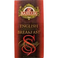 Чай Basilur Избранная Классика Английский завтрак English Breakfast листовой черный 100гр в картонной упаковке