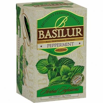 Чай Basilur Травяной перечная мята 20 пакетиков