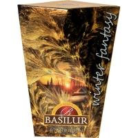 Чай Basilur Зимняя Фантазия Зимняя мечта Winter dream листовой черный 85гр в картонной упаковке