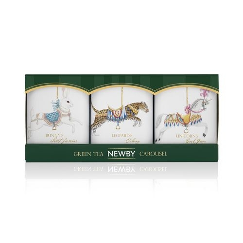 Newby Подарочный Набор Зеленых Чаев Карусель