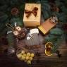 Подарок в коробочке из крафта «Шоколадное волшебство»
