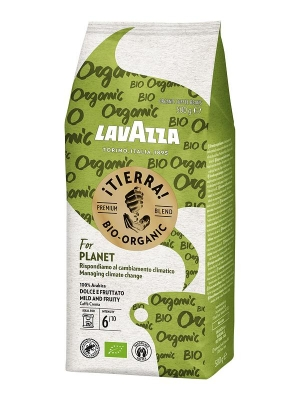 Кофе в зернах Lavazza Tierra BIO Planet 500 г