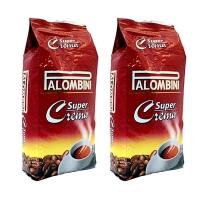Кофе взернах Palombini Super Crema 1+1кг (—50% на 2-ю упаковку)