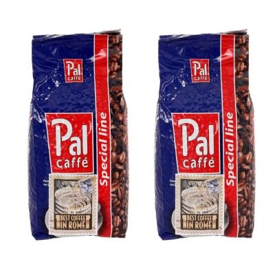 Кофе в зернах Palombini Pal Rosso 1+1 кг (—50% на 2-ю упаковку)